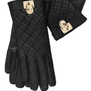 NWOT 🛑LAST CHANCE🛑Michael Kors Leather Gloves ✨